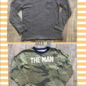 GUC Crewcuts LS T-shirt's Size 10